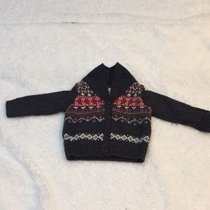Baby B'Gosh Knit Button Down Sweater